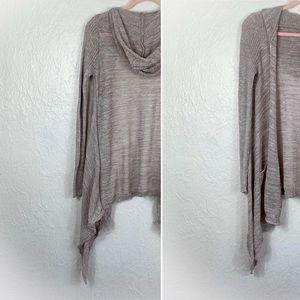 Medium - Mossimo - Beige Knit Hooded Shrug